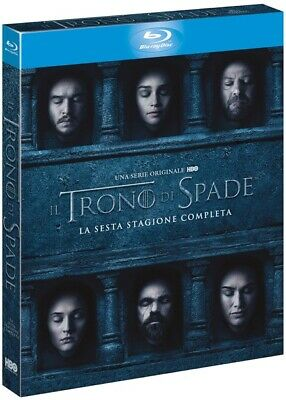 Il Trono di Spade 6 Sesta Stagione Blu-Ray Italiano ITA Slipcase Game Of Thrones