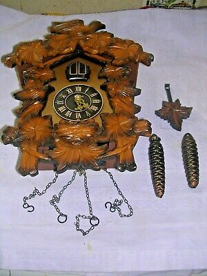 Clock  Parts,Cuckoo Clock, Sapares  Or  Repair