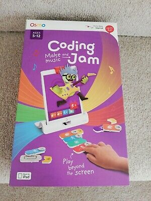 Osmo Coding Jam - base required. Suitable for age 5-12. Used once.