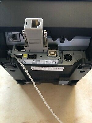 Micros Epson TM-T88V RJ45 Ethernet POS Thermal Printer M244A Adapter 100% Fully