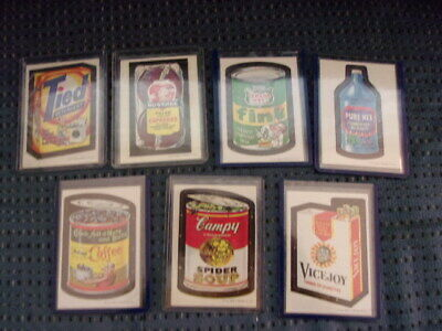 1967 Topps Wacky Packages Packs die cut lot 7 different, Campy, Pure Hex, more!