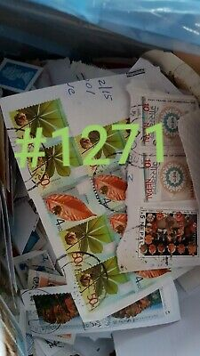 1Kg BOX of UN-SORTED, DIRECT FROM CHARITY, KILOWARE STAMPS, ASSORTED - #1271