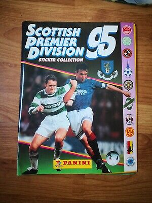 Album Futbol Panini  Scottish premier league 95 1995 SPL, 100% completo.
