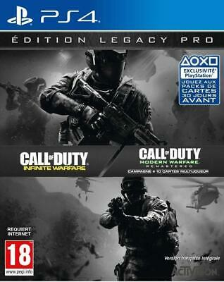 Jeu Call of Duty: Infinite Warfare Edition Legacy Pro PS4 - NEUF SOUS BLISTER
