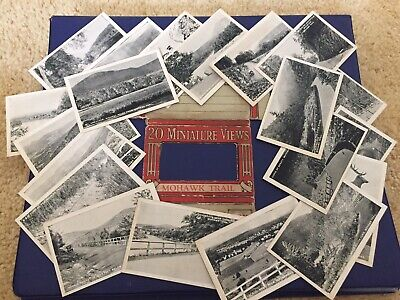 Vintage Mowhawk Trail Massachusettes Souvenir Photo Cards Set