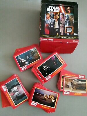 Journey To The Force Awakens Trading Cards X304 Approx Basic Cards Not Complete