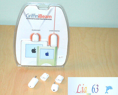 Griffin Ibeam Torcia e Laser per iPod Mini - Rarissimi!!!