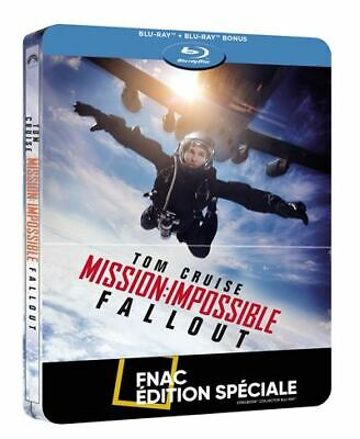 [Blu-ray] Mission : Impossible Fallout Steelbook - RARE - NEUF SOUS BLISTER