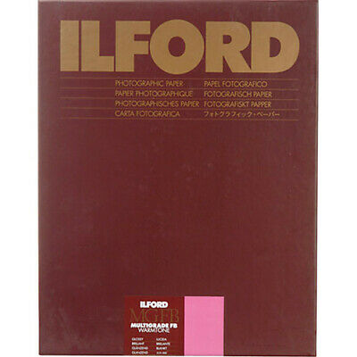 "Ilford Multigrade Fiber Base Warmtone Glossy Paper 20 x 24"" - 50 Sheets"