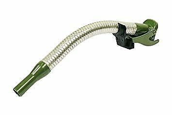Ge1007 Allmakes Long Flexible Steel Jerry Can Spout For All Jerry Cans Khaki