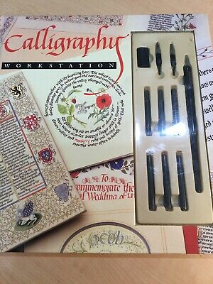 Calligraphy Workstation Book Tools