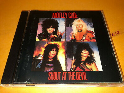 MOTLEY CRUE Shout At the Devil CD hits Looks That Kill Helter Skelter Vince Neil