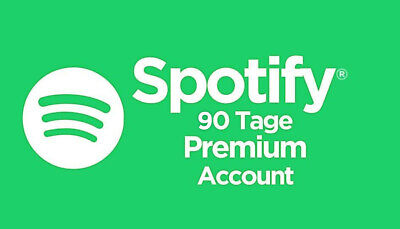 Spotify Premium Account 90 Tage!