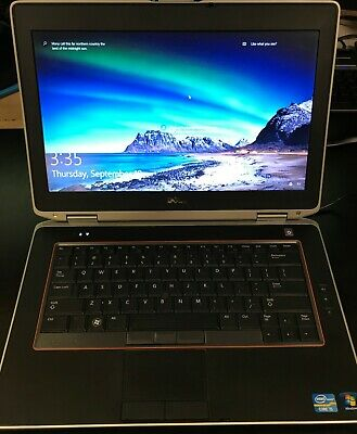 Dell Latitude E6420 Intel Core i5-2520M 2.50GHz 320GB HDD, 4GB RAM, Win10 Pro