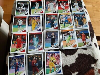 Panini Donruss Soccer 2018-19  Base Set LOTE  110 CARDS