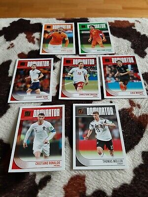Panini Donruss Dominator Lot Of 7 Cards 18-19