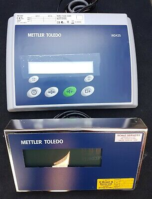 Mettler Toledo Weighing Terminal IND425 IND-425 and  ADI419 Remote Display