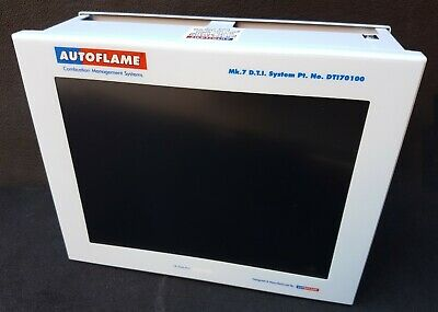 Autoflame Mk.7 System DTI 70100 Combustion Management System Screen HMI Panel