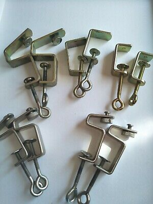 5 sets of table clamps and ribber clamps for knitting machines
