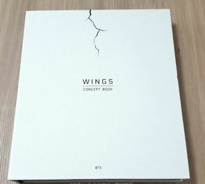 BTS Bangtan Boys The Wings Concept Book No Lenticular Photocard Rare Pre-owned
