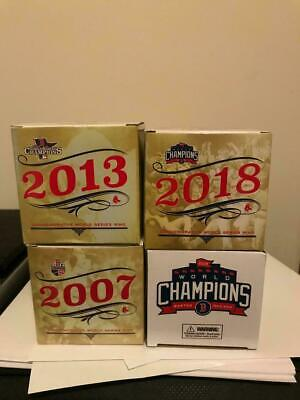 All 4 Boston Red Sox World Series SGA Rings Set of Four (4) 2018 2013 2007 2004