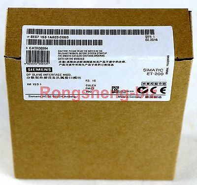 1PC Siemens 6ES7 153-1AA03-0XB0 6ES7153-1AA03-0XB0 PLC New in Box #RS01