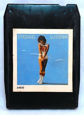Barbara Streisand - Superman 8 Track Tape Cartridge