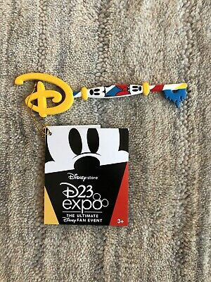 Disney Store D23 2019 Expo Mickey Minnie KEY Limited Edition Exclusive