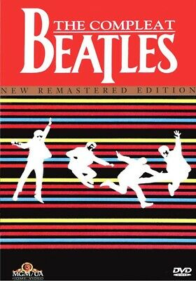 THE COMPLEAT BEATLES REMASTERED EDITION DVD COMPLETE john lennon paul mccartney