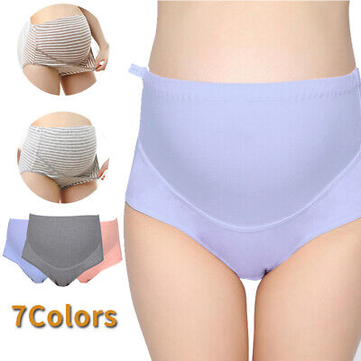 Women Girls Pregnant High Waist Briefs Maternity Panties Underwear Knickers Gift