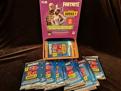2019 Panini Series 1 FORTNITE Trading Card BOX of (57) Normal Packs = 342  Cards