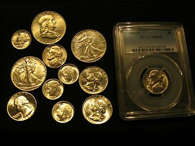 Not Junk Drawer Lot Of Bu  Silver Coins & Others 1941-1958