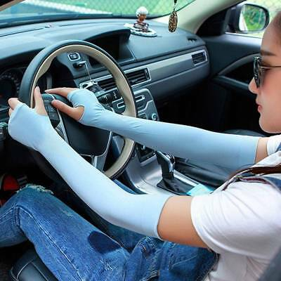 Fashion Lace Long Fingerless Protection Sun UV Driving SUmmer Gloves