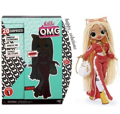 LOL SURPRISE O.M.G SWAG Fashion Doll with 20 Surprises