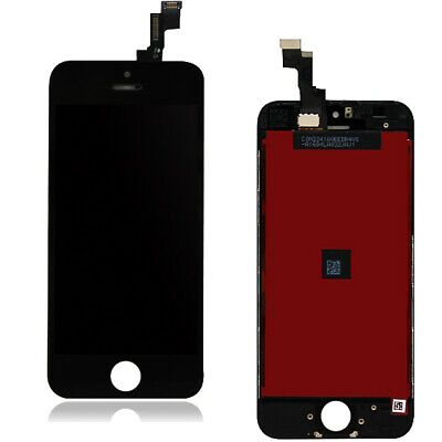 For iPhone 5S Screen Replacement LCD Display Touch Digitizer Assembly Black