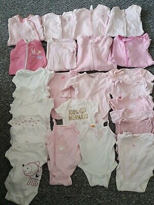 Girls Newborn, Up To 1 Month, First Size Huge Bundle *Combined Postage*