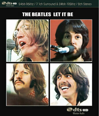The Beatles Let It Être Blu-Ray Audio Son Stéréo 7.1ch Contour 2.0ch Stéréo Neuf