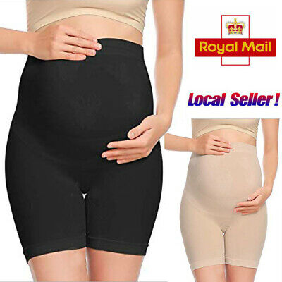 Women Maternity Shaper Mid Thigh Belly Support Pregnancy Stretch Panty Underwear
