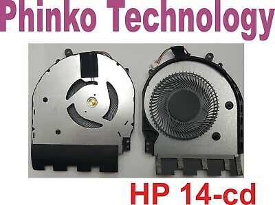 NEW Fan CPU Cooling for HP Pavilion x360 14-cd Series