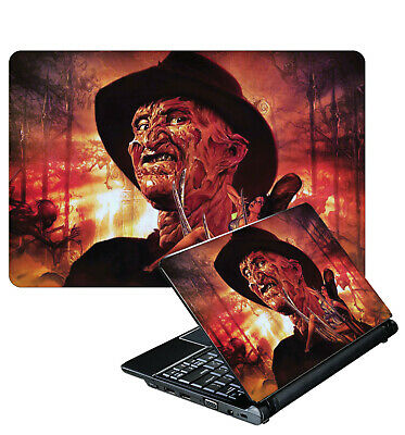 Laptop Sticker Freddy Krueger Nightmare On Elm Street Horror Skin Various Size
