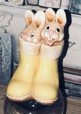 latex mould for making THESE 2 BUNNIES IN BOOTS
