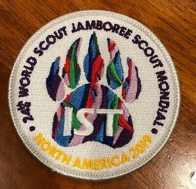 24th World Scout Jamboree 2019 Official IST / Staff Patch