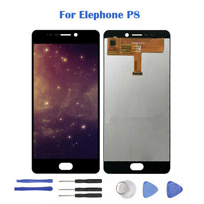 "5.5"" Noir Pour Elephone P8 LCD Display Touch Screen Digitizer Écran tactile H2FR"