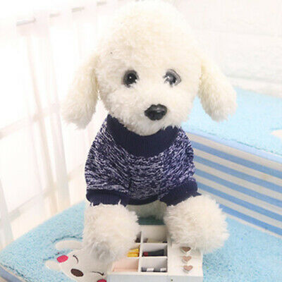 Pet Dog Cat Knitted Jumper Winter Warm Sweater Puppy Cute Coat Jacket Clothes