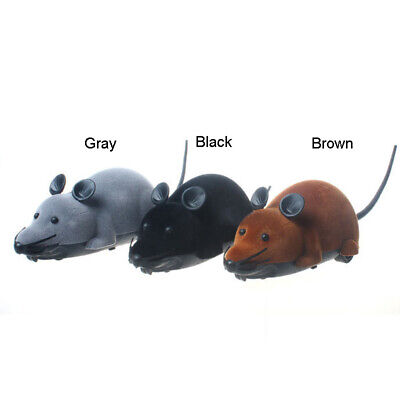 Cat Kitten Dog Pet Novelty Gift Wireless RC Remote Control Rat Mouse Mice Toy