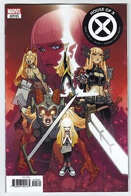 House of X #5 Lafuente Character Decades Variant Marvel VF/NM Comics Book Magik