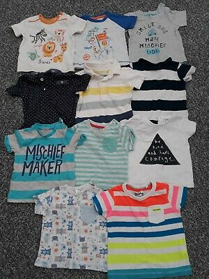 3-6 months boys tops/t-shirts 11 included *Combined Postage*
