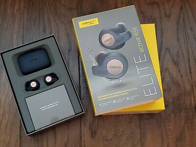 NEW Jabra Elite Active 65t Copper Blue True Wireless Sport Earbuds