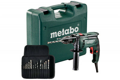 Set perceuse à percussion SBE 650 + 13 forets METABO