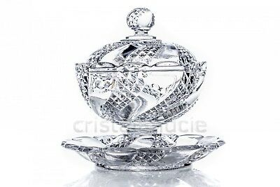 Sucrier Serpentine en Baccarat. Sugar bowl Serpentine by Baccarat